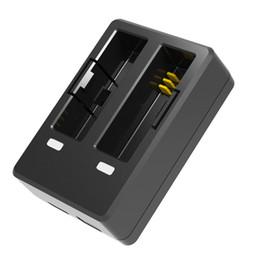 Wholesale Desktop Battery Charger - Wholesale- Original SJCAM Accessories Travel Desktop Charger Dual Slot Battery Charger for SJCAM SJ6 Legend Sports Action Camera