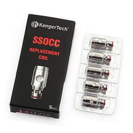 Wholesale Mini V2 - Kangertech SSOCC Vertical OCC Coils 0.15 0.2 0.5 1.2 1.5ohm Coil For Kanger Subtank Mini V2 Atomizer