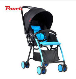 Wholesale Trolley Lie - Pouch Portable Baby Trolley Umbrella Car Folding Two-way Baby Can Sit Lie Lightweight Infant Newborn Baby Stroller Wheelchair