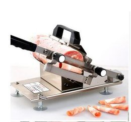 Wholesale Meat Cleavers - 304 Stainless Steel Manual Frozen Meat Slicer Handle Meat Cutting Machine ST200B