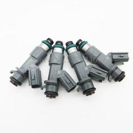 Wholesale Wholesale Acura Mdx - 4PCS Fuel Injectors For Honda Accord Acura MDX TL TSX 3.5L 3.7L 16450-R70-A01 16450R70A01