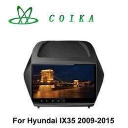 Wholesale Hyundai Navi - Quad Core Android Double Din Car DVD For Hyundai IX35 2008-2011 GPS Navi Radio BT WIFI 3G OBD DVR AUX USB Steering Wheel Control Phonebook
