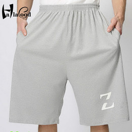 Wholesale Cheap Hot Sexy Clothes - Wholesale- Hot Sell Cheap Summer New Quality Brand Fashion Sexy Paragraph Men's Cotton Plus Fat Casual Shorts Mr Large Size Mans Clothing