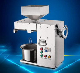 Wholesale Cold Oil Press - Commercial Electric Hot and Cold High Power Oil Press Machine Stainless Steel