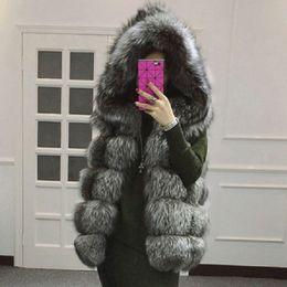 Wholesale New Mink Coats Women - 4xl 2017 Europe and the United States autumn and winter new fur coat imitation fur fox fur vest water mink coats