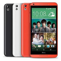 Восстановленное в Исходном HTC Desire 816 5,5-дюймовый Quad Core 1.5 ГБ RAM 8 ГБ ROM 13MP Камера 3G Разблокирована Android Смарт-Мобильный Телефон Бесплатно DHL от