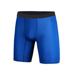 Wholesale Compression Cycling Shorts - Wholesale- Quick Dry Men Base Layer Cycle Tight Skin Fitness Compression Shorts