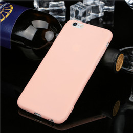 Wholesale Super Cute Iphone Cases - Fashion Cute Candy Protective Shell Super Slim Soft TPU Phone Cases For IPhone 6 6S 7 And 6plus 6Splus 7Plus