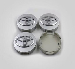 Wholesale Wholesale Toyota Camry - 2016 Car Styling 62mm Silver Car Center Hub Caps Wheel Covers for Toyota Corolla Car Wheel Covers for Toyota Camry