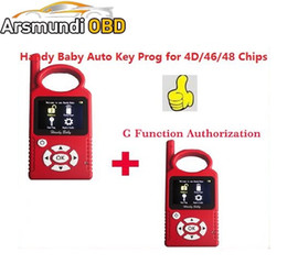 Wholesale Nissan Russia - Russia Portuguese Version V8.2.0 Handy Baby G Funtion Car Key Prog Auto Key Programmer for 4D 46 48 Chips + G Chip Copy Function