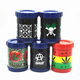 Wholesale Can Safes - Smoking Tobacco Pollen Presser Shaker Pollen Sifter Box New Micro Mesh Stash Can Safe Container Bottle For Smoking Tools Accessories