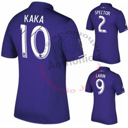 Wholesale ORLANDO CITY KAKA SHEA LARIN NOCERINO CUSTOMIZED soccer uniform kits soccer jerseys thai quality thailand quality football shirts kit