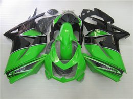 Wholesale Green Kit Fairing - New ABS bike Fairings kit set fit for KAWASAKI Ninja 250R EX 250 2008 2009 2010 2011 2012 EX250 08 09 10 11 12 Free windscreen green black