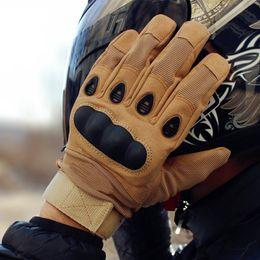 2019 gants de course moto Vente chaude Qualité Militaire Moto Gants Plein Doigt Sport En Plein Air Racing Moto Motocross Équipement de Protection Respirant Gant Pour Hommes promotion gants de course moto