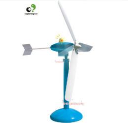 Wholesale Power Wind Generators - Wholesale-exploring kid creat toy scientific experiment game model wind power Generator 1set