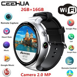 Wholesale Air Polish - 2017 newest Interpad I4 Air Smartwatch Android5.1 2GB 16GB 2MP WIFI 3G GPS Heart Rate Monitor Bluetooth 4.0 MTK6580 Quad Core Smart Watch