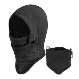 Wholesale New Arrival Face Mask Thermal Fleece Balaclava Hood Swat Ski Bike Wind Winter Stopper Beanies Out Door Sports CC0013