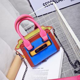 Wholesale Tassel Mobile - Bump mini chain shoulder bag women tide fashion shoulder across bag mobile phone bags 2017 fashion handbags
