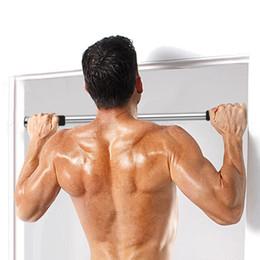 Wholesale Bar Door Exercise - POWERTRAIN HOME GYM DOORWAY PORTABLE CHIN UP BAR PULLUP EXERCISE DOOR EQUIPMENT