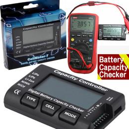 Wholesale Nimh Battery Life - Brand New RC CellMeter-7 Capacity Controller Digital Battery Capacity Checker LiPo LiFe Li-ion NiMH Nicd BK201 Free Shipping