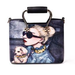 Wholesale Korea Brand Bags - 2017 PU fashion handbag joker single shoulder bag brand desginer bags Korea edition new fashion women bag