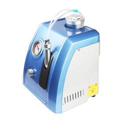 Wholesale Aqua Dermabrasion - Newest Mini Small 2 In 1 Diamond Microdermabrasion Water Aqua Dermabrasion Hydrafacial Peel Skin Care Equipment