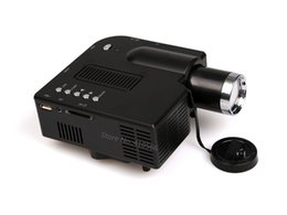 Wholesale Led Low Cost - Wholesale- New Arrival Low Cost Mini LED Projector Portable LED Lamp Beamer With HDMI USB SD VGA Compatible For DVD Computer For Home Game