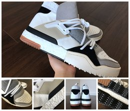 Wholesale Aw White - 2017 With Box Men and Womens AW BBall Sneaker Boost Running Shoes Boost Boost Shoes Size 5-12.5