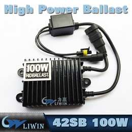 Wholesale Hid Xenon Ballast Super Slim - Xenon Replacement 100W Car HID Slim Ballast Block AC 9-16V Hid Super Slim Ballast For HeadLight Bulb