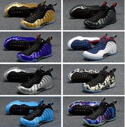 Wholesale Royal Plastics - High Quality One Hardaway Barkley Posite men Basketball Shoes Royal Olympic Authentic Sneakers Men Retro Sports Boots Pro Galaxry us 8-13