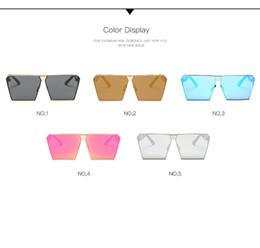 Wholesale Restore Mirrors - 2017 Unique Design Colorful sunglasses new tide restoring ancient ways men women sunglasses for dazzle colour glasses 0019