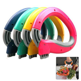 Wholesale Home One Trip Grips Shopping - 1 pcs Mighty Handle,Home One Trip Grips Shopping Grocery Bag Holder Handle Carrier Lock Kitchen Tool FX142