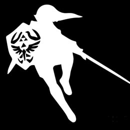 Wholesale Animations Words - Warriors Animation Film Justice Legend of Zelda Hyrule Triforce Car Sticker Motorhome Motorcycle Vinyl Covers