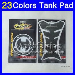 Wholesale Suzuki Gsxr K7 - 23Colors 3D Carbon Fiber Gas Tank Pad Protector For SUZUKI GSXR1000 05 06 07 08 GSXR 1000 GSX R1000 K5 K7 2006 2007 2008 3D Tank Cap Sticker