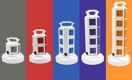 Wholesale British Socket - Intelligent Electrical Sockets, Tower Style, Vertical Upright British Standard Socket, Lightning Protection, Anti-overload Protection