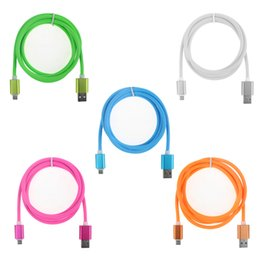 Wholesale Chinese Car Prices - Fctory price 1.2m lead charger usb cable car charger micro usb cable TPE Stripe USB Data Cable High speed for samsung
