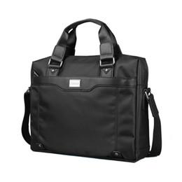 Poignées pour ordinateur portable en Ligne-2017 Mode homme sac Business Laptop Notebook mallette poignée souple crossbody Grande Capacité épaule Voyage ordinateur portable sac