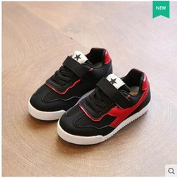 Wholesale Summer Net Shoes - 2016 autumn children's shoes, girls' breathable net shoes, boys' net noodles, casual shoes, big children, single shoes