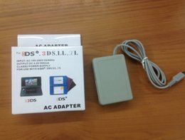 Wholesale Dsi Chargers - AC Power Charger Adapter Home Wall Travel Battery Charger Supply Cable Cord for For Nintendo NDSi 3DS 3DSXL LL Dsi