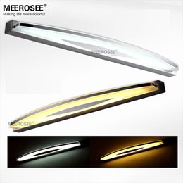 Wholesale Quality Bathroom Fixtures - Modern Acrylic LED Mirror Wall lighting fixture Wall mounted LED Bathroom lamp High Quality 6watt LED wall lustres fast shipping