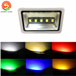 Wholesale Energy Saving Spot Light - Brightest 5 LED Flood Light 250W RGB Color changing Energy Saving Security Energy Spot Light Indoor Outdoor For Court Yard Parking Place