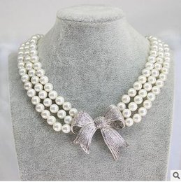 Wholesale Nanyang Beads - Nanyang mother pearl necklace clavicle shell beads necklace 10MM round