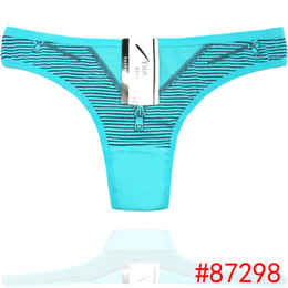 Wholesale Sexy Thongs For Girls - New Fancy Printing Cheerky Underwear Funny Thongs For Women Sexy Girl Women's Panties Preteen Panty Underwear Thongs