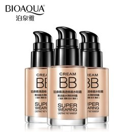 Wholesale Natural Rate - BIOAQUA Brand Makeup Base Face Waterproof Liquid Foundation BB Cream Concealer Moisturizing Whitening Oil-control Cosmetics Rated 4.7  5 bas