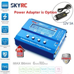 Wholesale Peak Mini - charger Original SKY IMAX B6 MINI Balance RC Charger Discharger For RC Helicopter Re-peak NIMH NICD Aircraft+Power Adpater(optional)