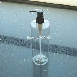 2020 oz contenitori all'ingrosso All'ingrosso- 5 pezzi 500ml di bottiglia vuota 16,7 OZ Dispenser di sapone liquido può contenitori di crema per le labbra oz contenitori all'ingrosso economici