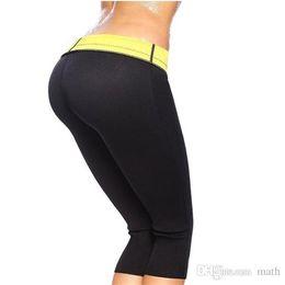Wholesale Wholesale Black Hot Pants - Super stretch super women hot shapers Control Panties pant stretch neoprene slimming body shaper 6 size