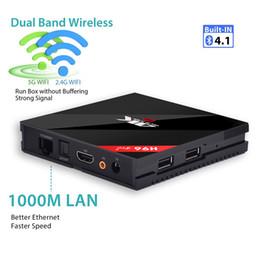 Echte pandora online-Echte Fabrik H96 Pro Plus 3G 32G Amlogic S912 Octa Core Android 7.1 TV KASTEN VS T95Z PLUS BB2
