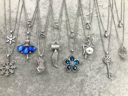 Wholesale Owl Key Pendant - Rhinestone Tassel Turtleneck Chain Christmas Layered Fashion Jewelry Leaf Hollow Out Owl Fairy Eiffel Tower Key Snowflake Pendant Necklace