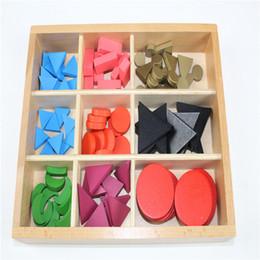 Wholesale Wooden Symbols - Wholesale- Baby Toy Montessori Basic Wooden Grammar Symbols with Box Early Childhood Education Preschool Training Kids Brinquedos Juguetes